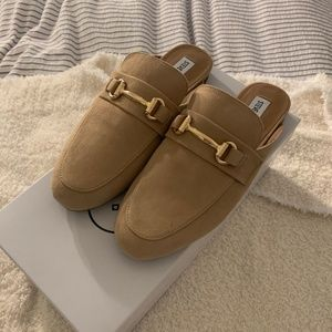 Steve Madden Suede Loafers Size 7.5
